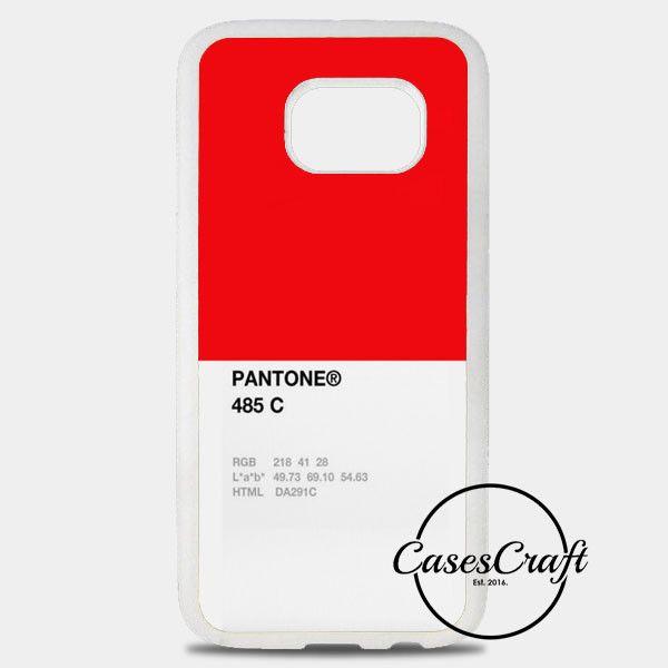 Pantone 485 C Samsung Galaxy S8 Plus Case | casescraft
