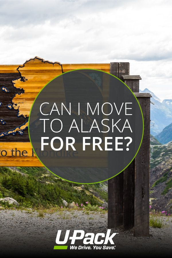 While you can't get paid to move to Alaska, you can get paid to live there. Find out what you need to qualify and how to move to Alaska with U-Pack.