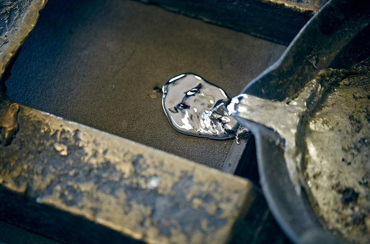 L'étain métal vivant par Nousaku et Sylvie Amar Studio