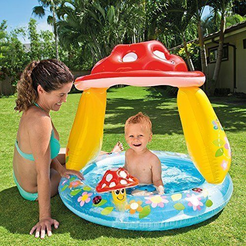 Baby Pool Inflatable Garden Swimming Water Play Outdoor Toddler Kids Fun NEW  #BabyPool
