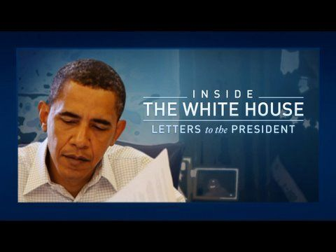 Inside the White House: Letters to the President - The white House receives 65,000 letters a week. Since Day 1 of his term, he reads 10 letters a day.