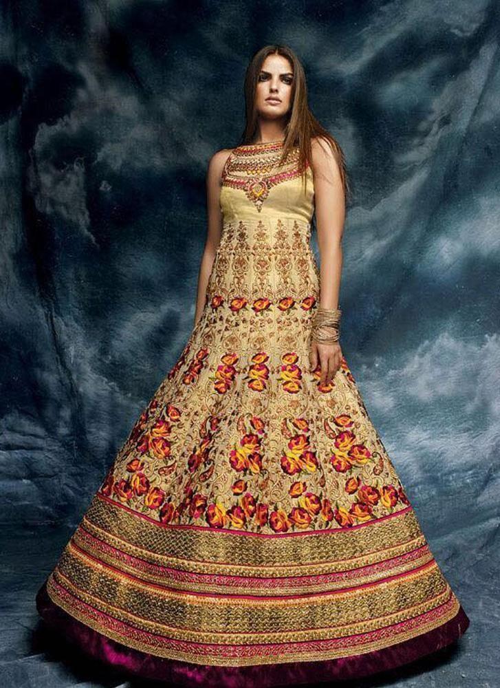 Designer Indian Pakistani Salwar Kameez Bollywood Suit Ethnic New Dress Anarkali