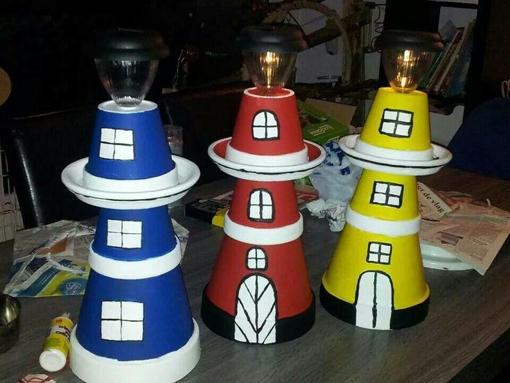 Vuurtoren lamp