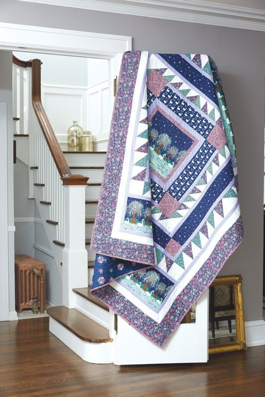17 Best images about Bed-Size Quilt Patterns on Pinterest Fat quarters, Twin quilt and ...