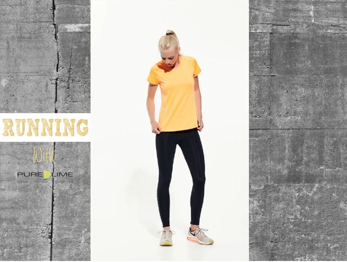 Pure Lime running gear.... SS2017 collection....