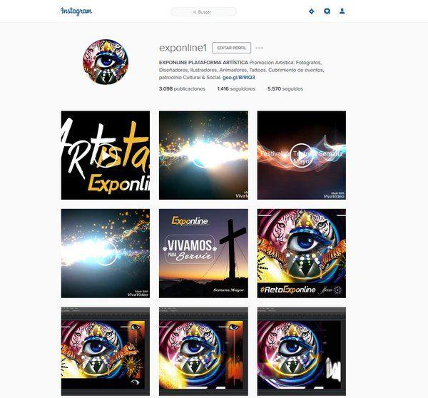 #Instagramexponline Ya nos sigues? seguimos actualizando nuestras cuentas para tenerte al tanto de nuestras últimas novedades @exponline1 https://www.instagram.com/exponline1/