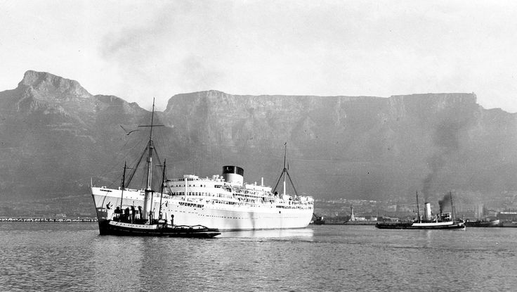 Union Castle Mail Boat Departs Cape Town Harbour | Flickr - Photo Sharing!