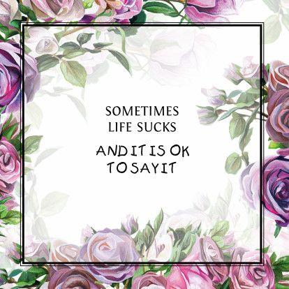 Positieve en stijlvolle kaart met roze en paarse rozen en positieve spreuk. Voor als iemand ziek is, zomaar of ondersteuning. #quotecard #quote #card #floral #pink #purple #greetingcard #squarecard #framedcard #ondersteuning