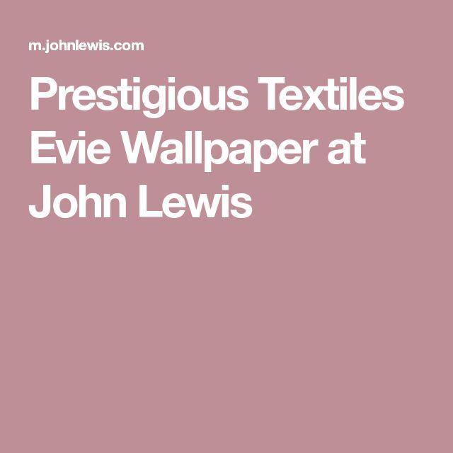 Prestigious Textiles Evie Wallpaper at John Lewis