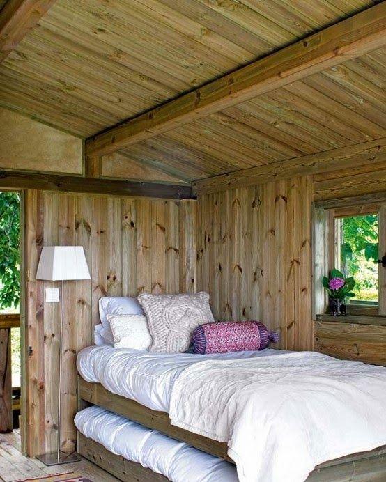 Desain Rumah Kayu Pedesaan | Rumah Minimalis