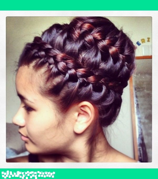 double crown hair styles 1000 ideas about crown hairstyles on 5367 | a01f2c8babef7b46699731f52fb21f13