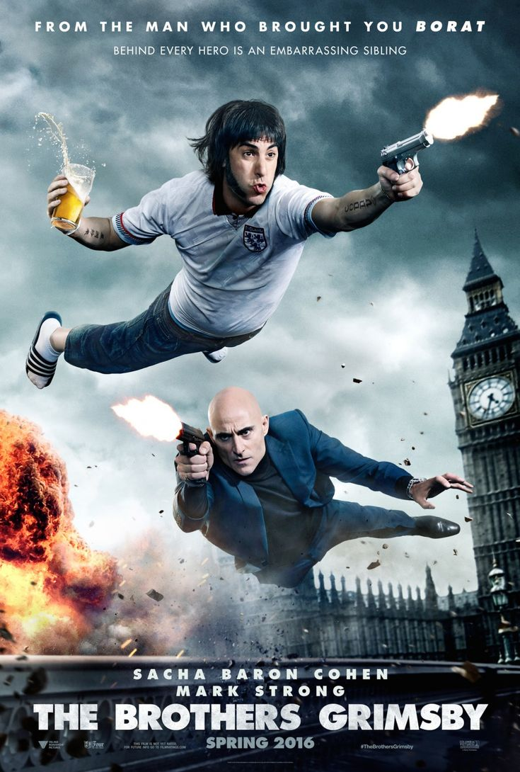 The Brothers Grimsby Poster #2 | CineJab