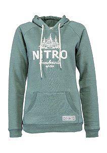 NITRO Forest - Kapuzenpullover für Damen - Grün