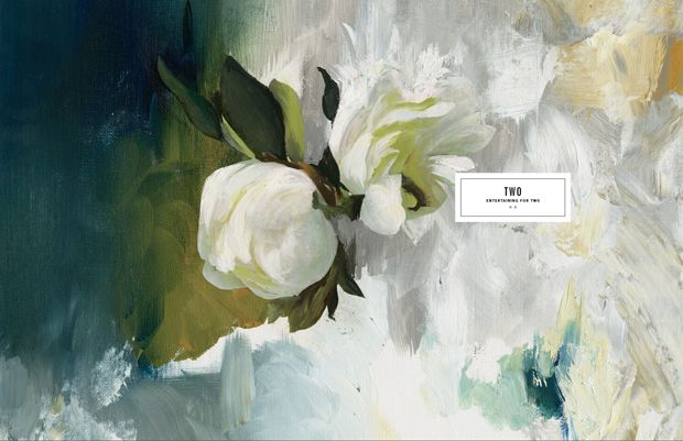 kinfolk mag preview, paintings by Katie Stratton
