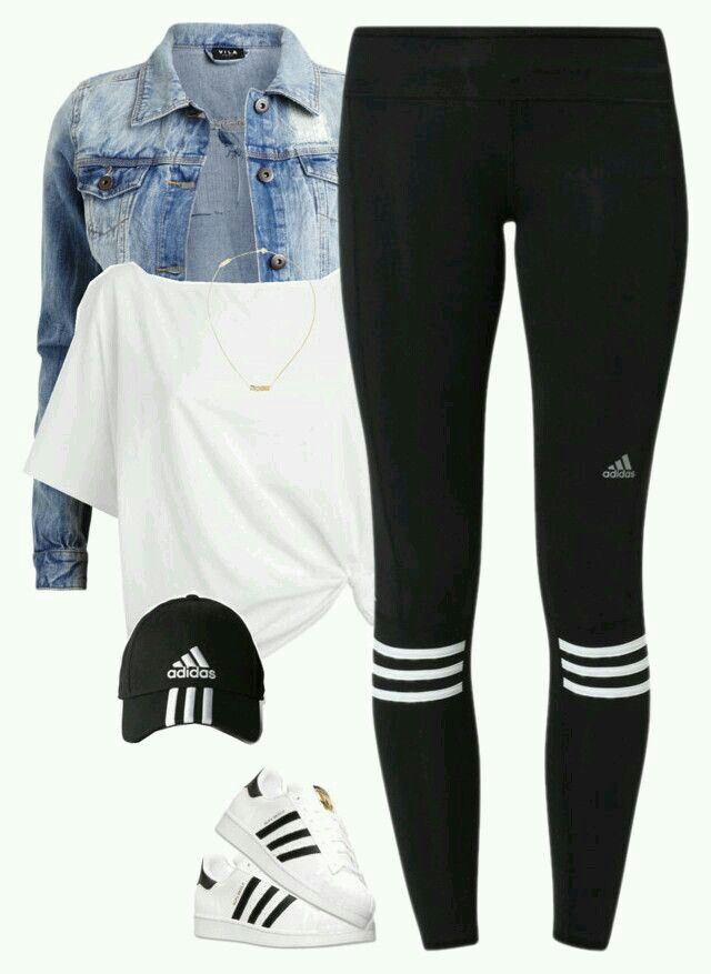brilliant nike and adidas outfit
