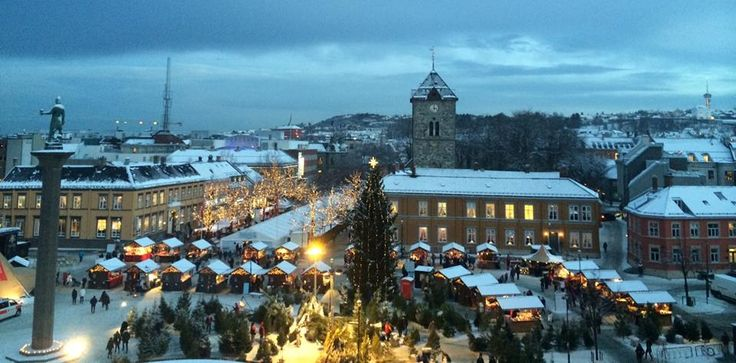 City square Christmas-marked 2014