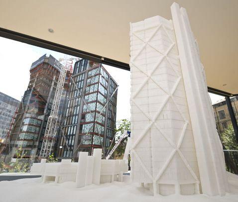Brendan Jamison Sugarcube Sculptures