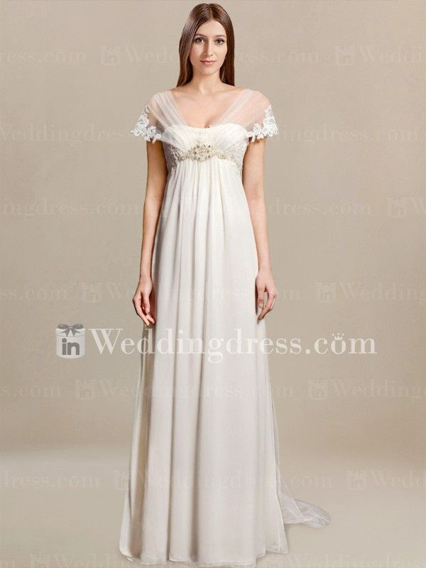 summer bridal gown