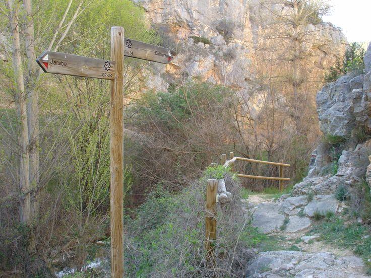 Sendero GR 24 por las Hoces del río Mesa (Jaraba - Calmarza)