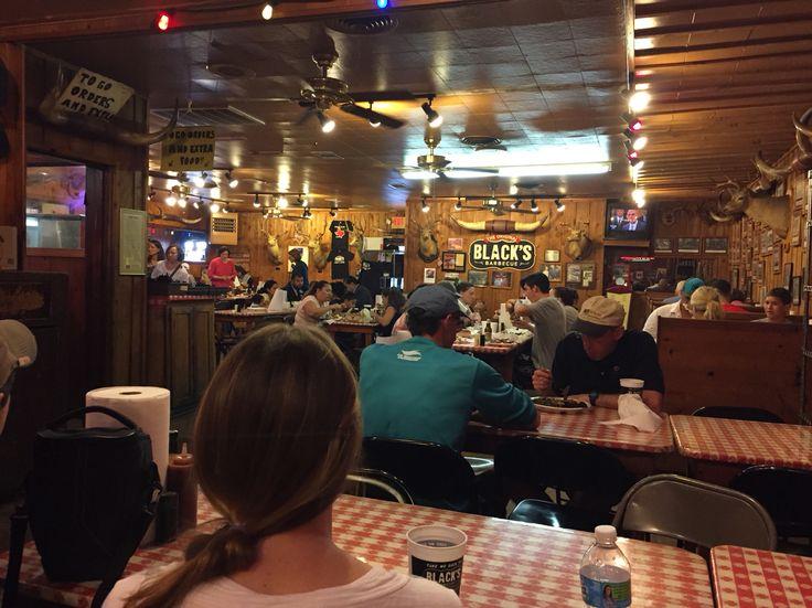 Black's BBQ. Lockhart, TX. The BBQ capital of TX.