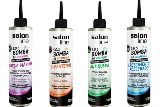 Salon Line lança Tônicos Fortalecedores que prometem combater a quebra e queda. Formulados sem álcool podem ser aplicados diretamente no couro cabeludo, não necessitando de enxágue. Veja mais no blog.