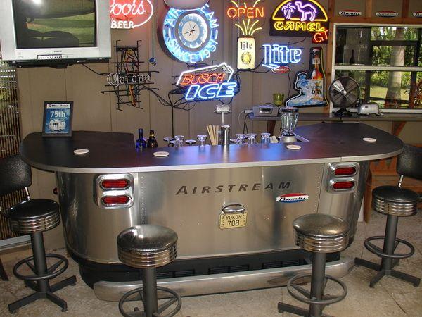 58 best airstream food drink images on pinterest for Garage bar designs