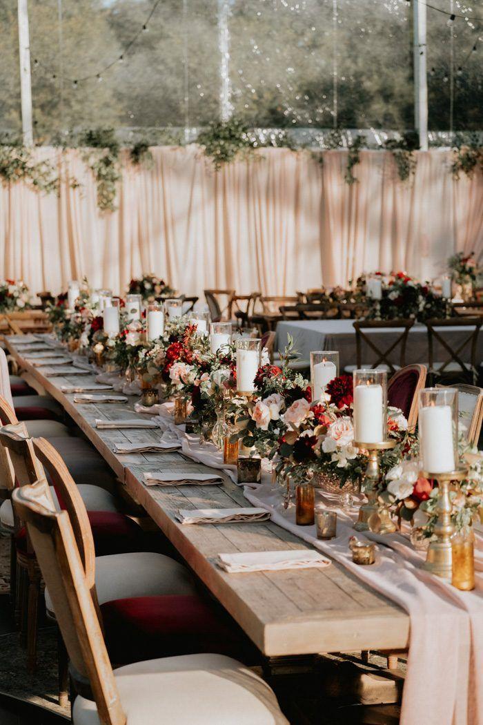 This Bohemian Backyard Wedding In Dallas Has Larger Than Life Blooms And Personality Backyard Wedding Bohemian Backyard Wedding Lights Wedding Decor