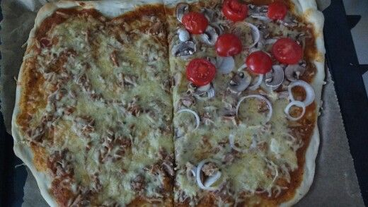 Pizza #homemade #pizza