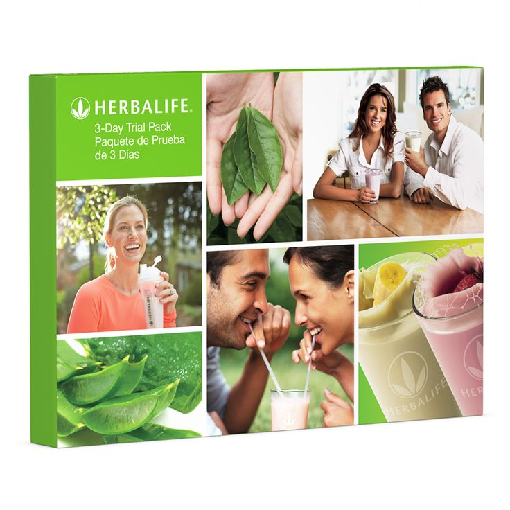 Independent Herbalife Distributor | 3-Day Trial Pack Single