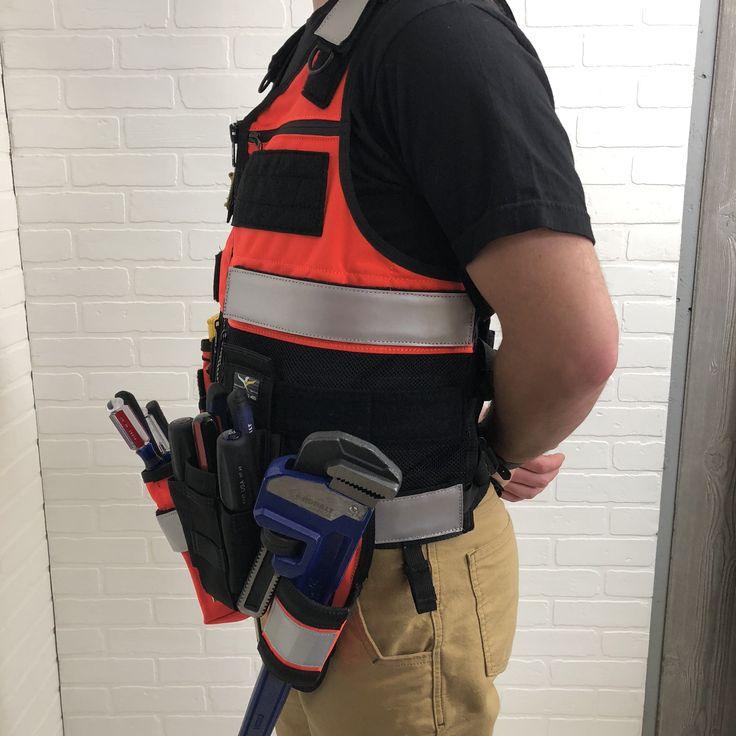 Saratoga Tool Vest™ Plumber Kit Shopping, Tool belts
