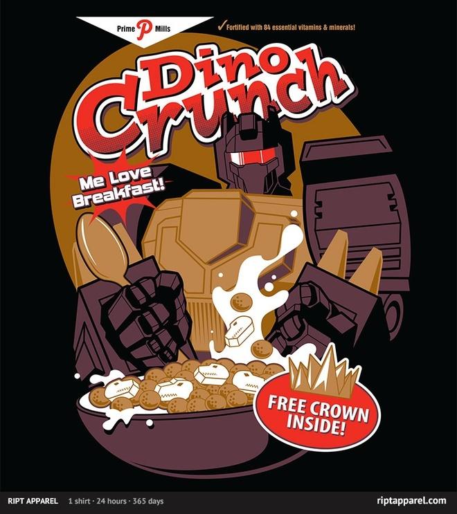 Dino Crunch - Me Love Breakfast!