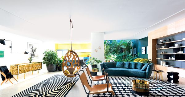 Por el 40 aniversario de la revista Casa Vogue en Brasil, el equipo de redacción creó una residencia que muestra el talento de los diseñadores y arquitectos al sur de América.