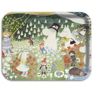 "Moomin ""Dangerous Journey"" little tray"
