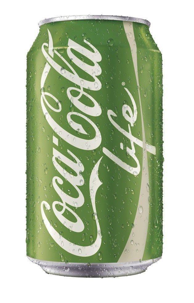 rare new coke coca cola can tin green logo life from