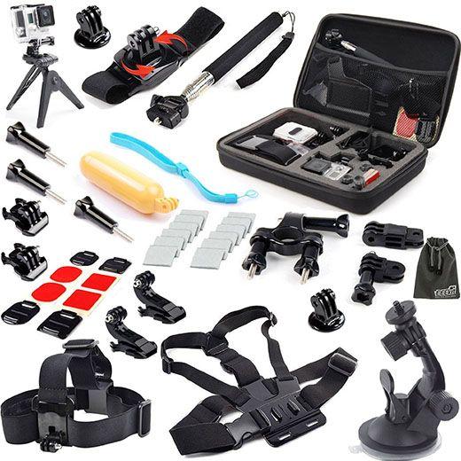 3. EEEKit 31-in-1 Travel Kit for GoPro HERO 4, 3+