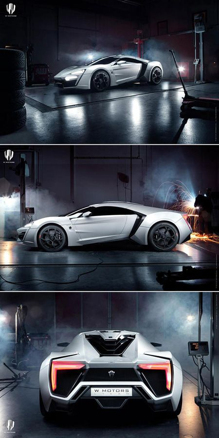 $3.4-Million W Motors Lykan Hypersport is World's Most Expensive Production Car, First Arabian Supercar