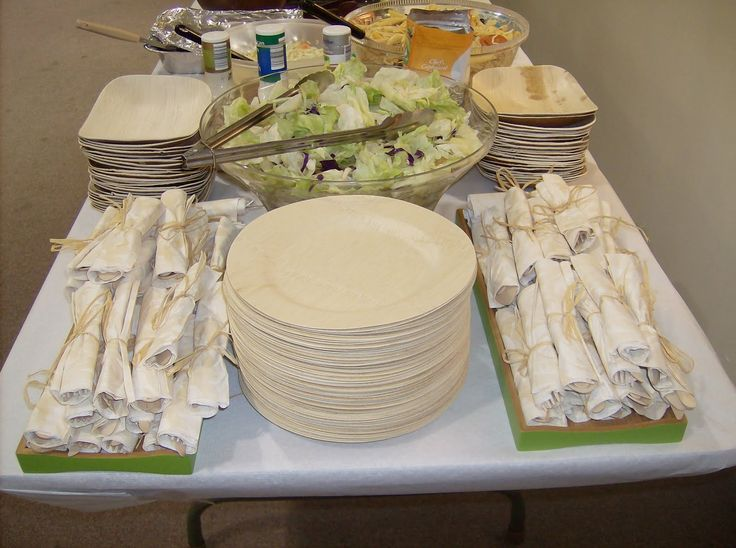 I like the napkins and disposable silverware for my reception & 309 best Porch party ! images on Pinterest | Birthdays Decorating ...