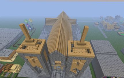 Minecraft Cathedral