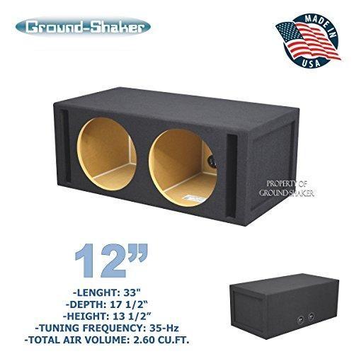 12 Dual Ported Sub Box 35hz Ct Sounds Sub Box Subwoofer Box Design Subwoofer Box