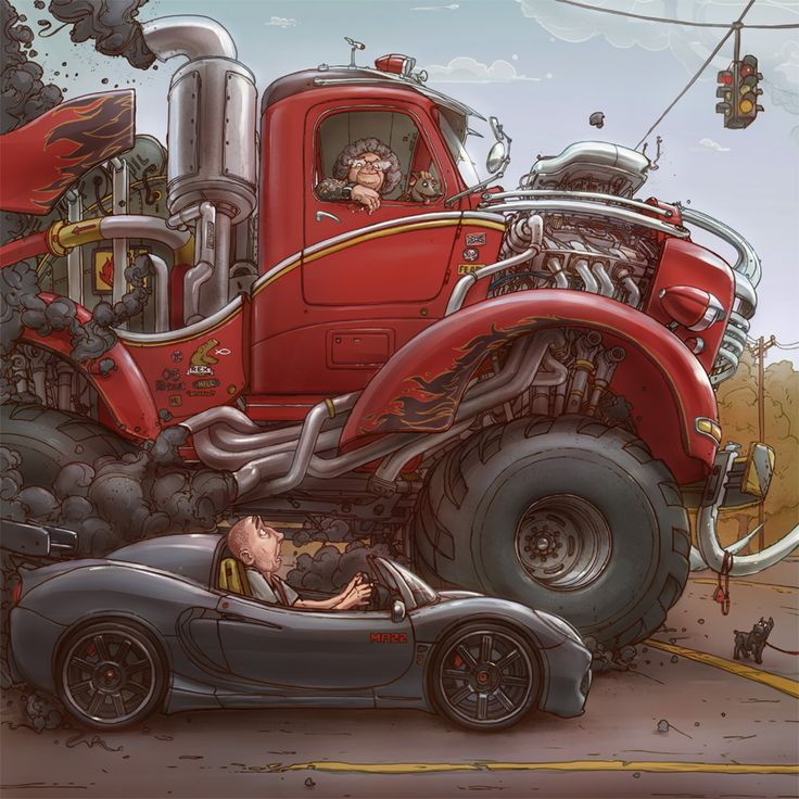 Highly Detailed Illustrations by Michal Dziekan
