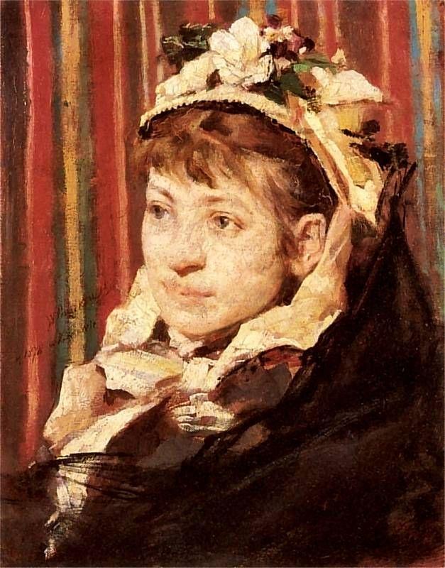 Witold Pruszkowski  - Portret Stefanii Fedorowiczowej, 1878
