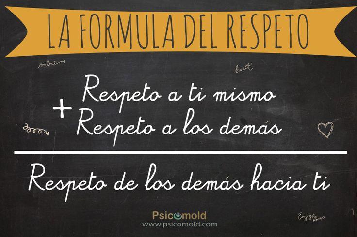 El respeto es el protocolo de la humanidad, sin respeto no hay autoestima ni democracia (Pedro Hernández Guanir)  Psicomold Psicólogos • Pioneros en Inteligencia Emocional  ·TERAPIA Y ENTRENAMIENTO PSICOLÓGICO· www.psicomold.com Tel: 922 634 985