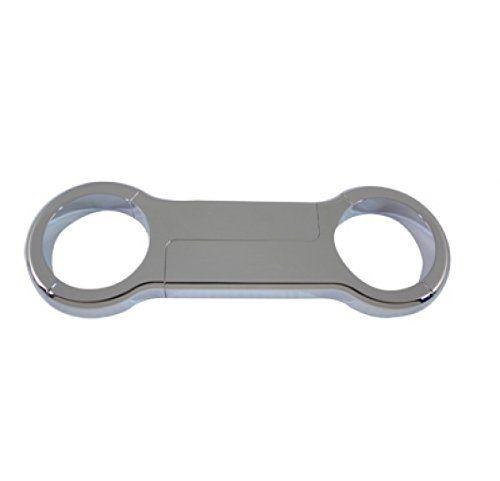 V-Twin 24-0841 39mm Chrome Fork Brace  OEM No: 46192-99  Chrome fork brace is a four piece design for easy installation on 39mm forks.  Fits:  XL 1988-UP  FXD 1991-2005  FXR 1988-1994  UOM: 1 – EA    2011 Catalog pages: 168, 558, 847    SAV for Harley Davidson Motorcycles 39mm Chrome Fork Brace  http://www.newmotorcyclestore.com/v-twin-24-0841-39mm-chrome-fork-brace/