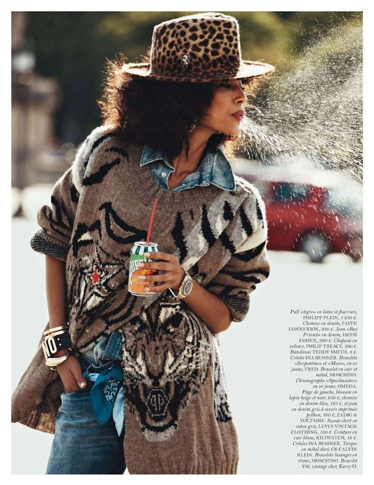 Anais Mali for Vogue Paris August 2012 - see the full spread on stylepantry.com