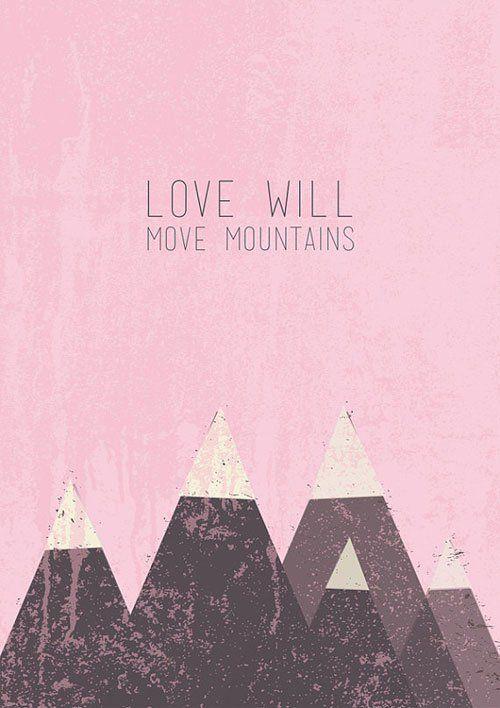 Mountains Print   Bigode Digital