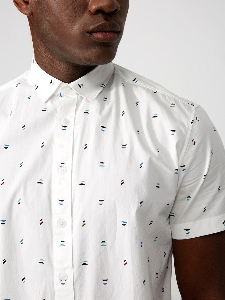 Calder Print Cotton-Poplin Shirt | Frank + Oak
