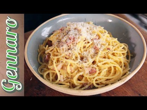 Italian Spaghetti Carbonara - YouTube