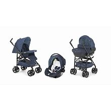"349 euro Poussette Trio Sprint Black Midnight - Chicco - Babies""R""Us"