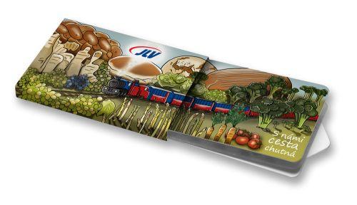 Reklamní žvýkačky | Advert chewing gums  #zvejky #CharityGums #dobryzvejky #chewinggums #peppermint #bezcukru #noaspartame #nosugar #vegan #advert #rail #train