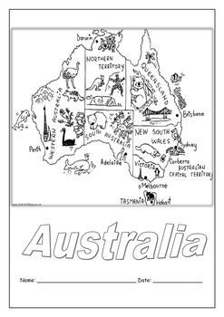 Themed unit on Australia. Includes State & Territory's, capital cities, national flowers & emblems, famous landmarks, information on Aboriginals and the First Fleet. Great unit for casual teachers, or as a whole class unit when studying Australia. Includes Literacy, Numeracy & Art activities.